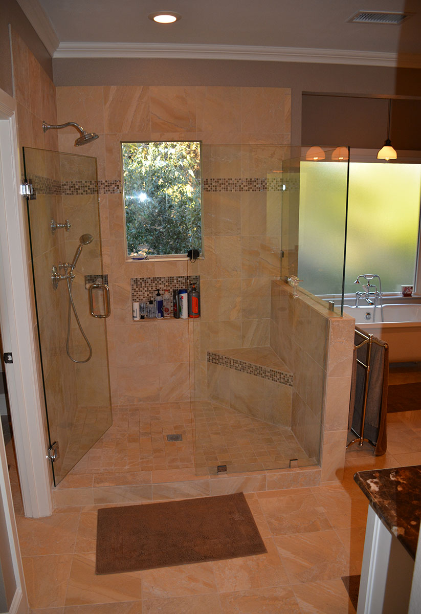 Lakewood Dallas Shower Remodel